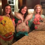 Easy DIY Easter Burlap Door Hangers