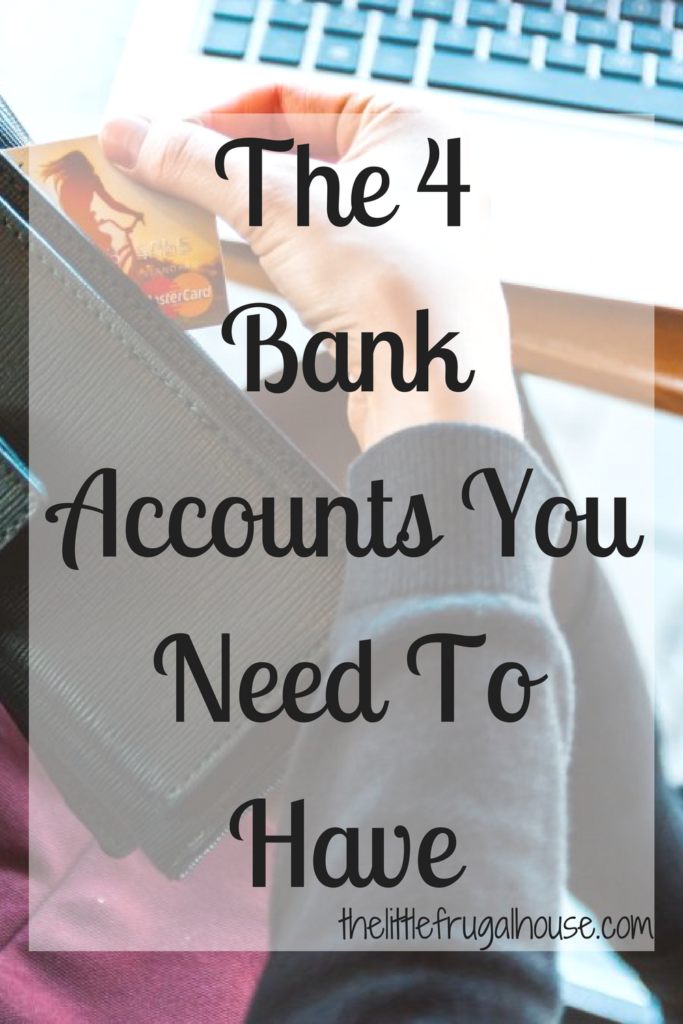 Having multiple bank accounts can help you save for the future and achieve your goals. We use 4 bank accounts and love this system!