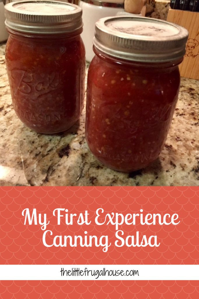 My first experience canning salsa: what we used, what worked, what didn't work, etc. We learned a lot and are ready for a big garden and more canning!