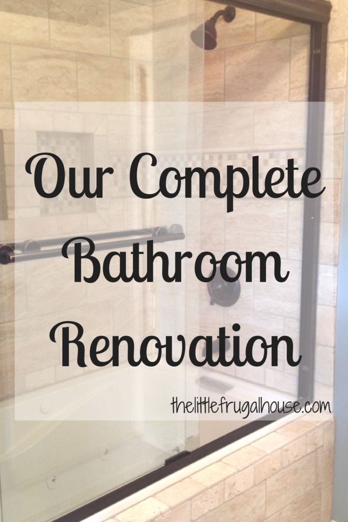 A full bathroom tear out and renovation, complete with tile shower, new vanity, and décor. Check out this bathroom renovation!
