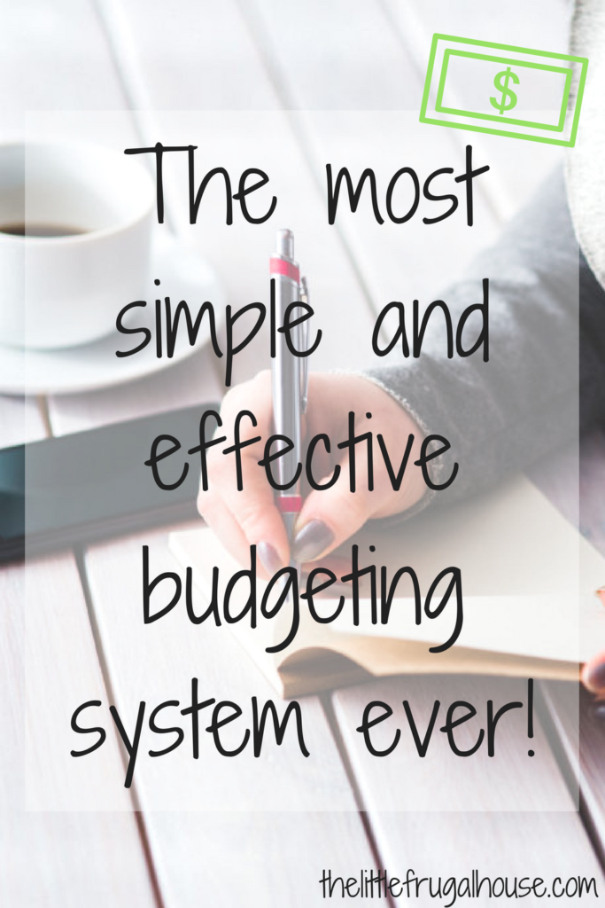 Does the word budget make you cringe? But you know you need to get your finances in order? Try this simple and effective budgeting system that works!