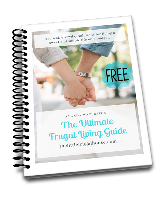 Click the book below to get your FREE copy of The Ultimate Frugal Living Guide!