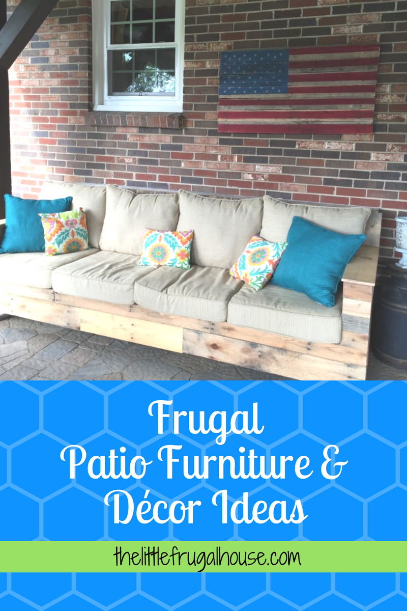 Decorate Your Outdoor Space With Frugal Patio Furniture And