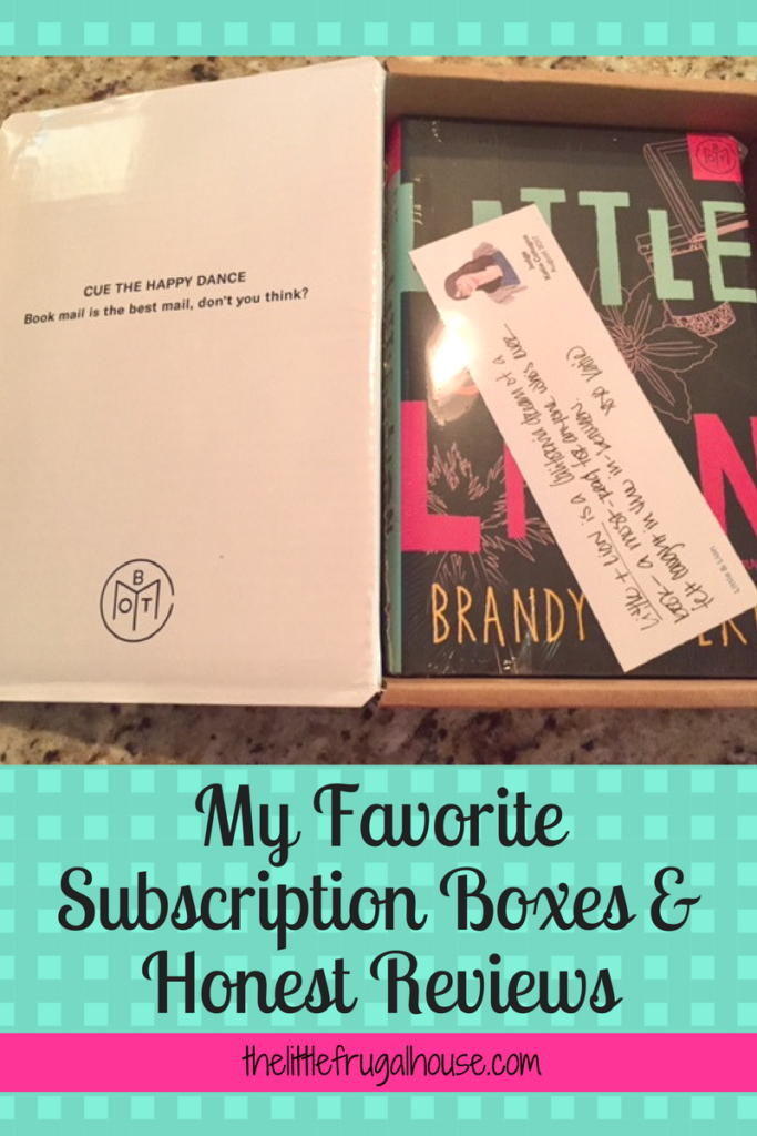 Subscription boxes seem to be all the rage right now. There is a box for anything and everything. Here's a list of what I love and what I didn't!