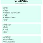 FREE Organizing & Decluttering Checklist & Planner