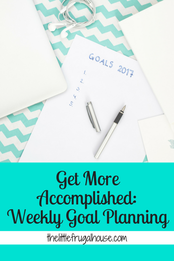 Use this simple weekly goal planning system to stay focused, get more accomplished, and tune out anything extra. All you need is paper and pen!