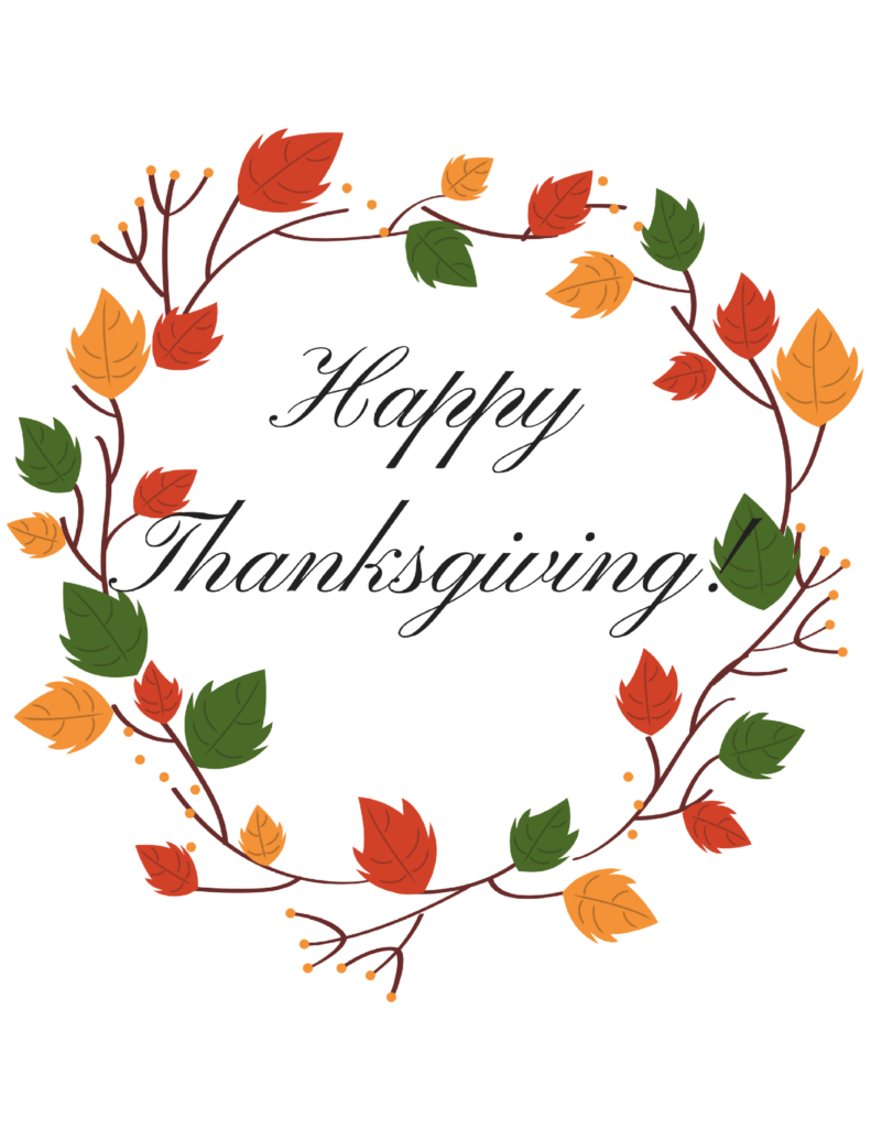It's just an image of Shocking Happy Thanksgiving Printables