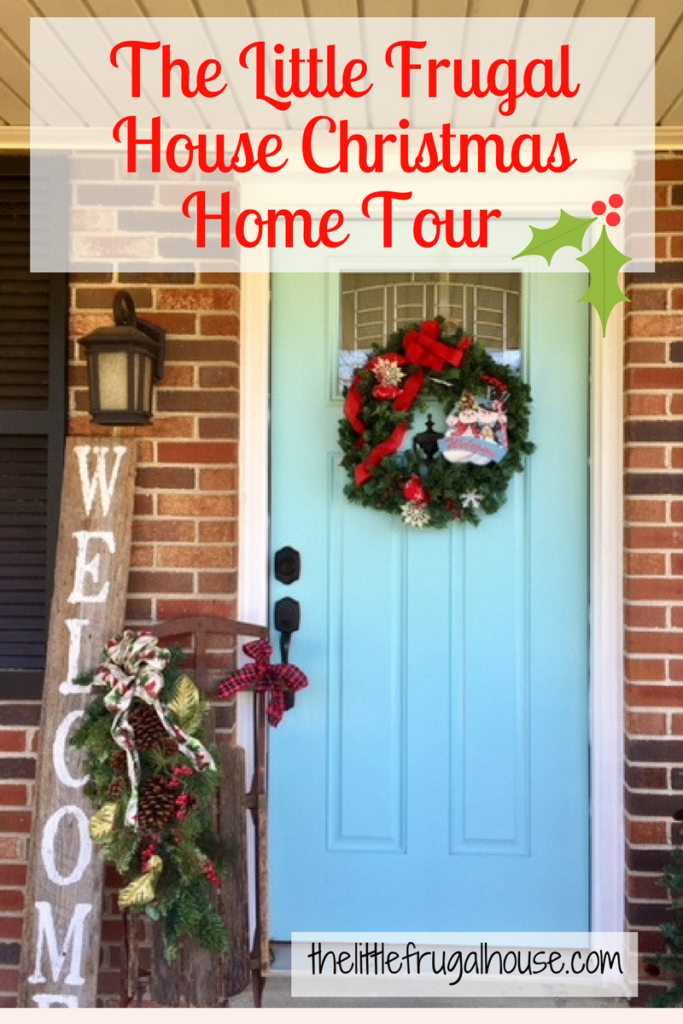 Come visit our home and step inside for our Christmas Home Tour. We love decorating our small home with meaningful Christmas decorations!