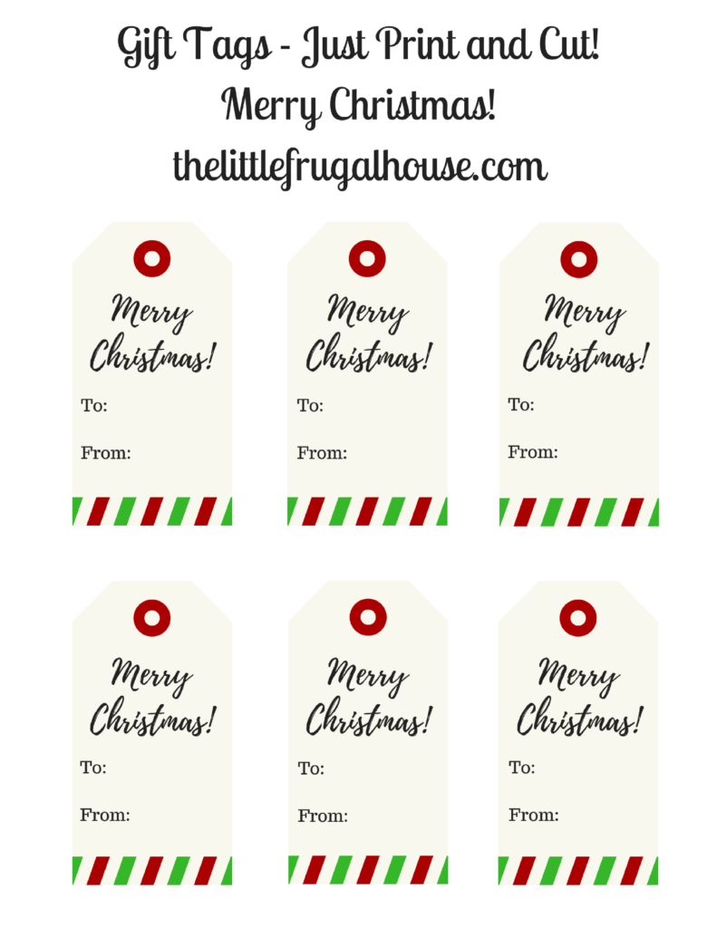 picture about Free Christmas Tag Printable titled Totally free Xmas Present Tags! - Printable Merry Xmas Reward