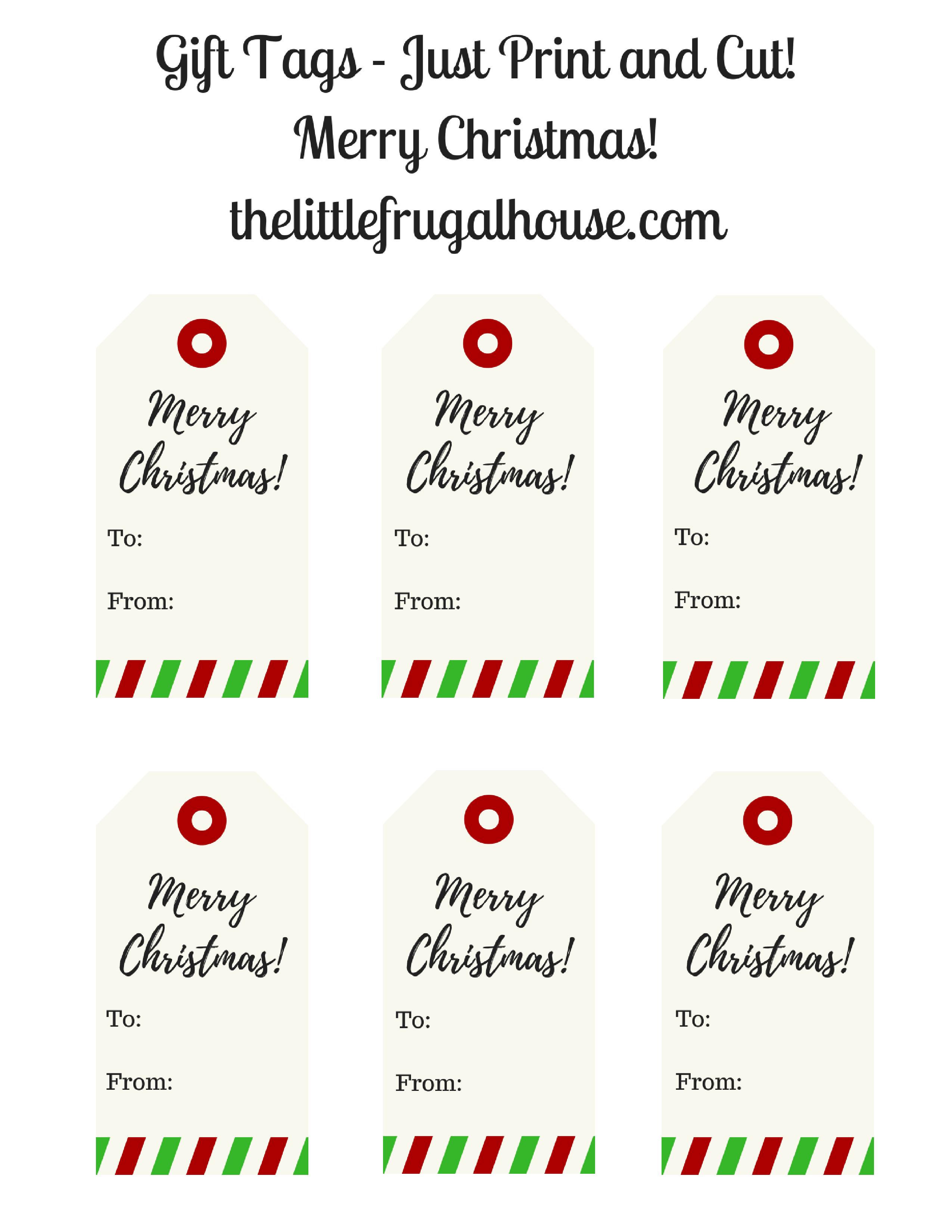 Merry Christmas Gift Tags.Free Christmas Gift Tags Printable Merry Christmas Gift