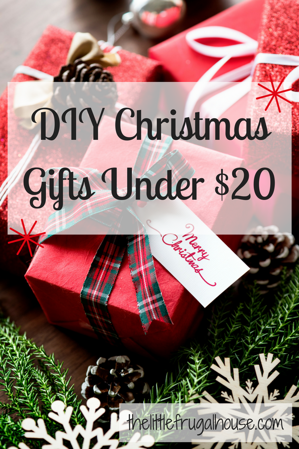 Christmas Gifts Under 20.Diy Christmas Gifts Under 20 The Little Frugal House