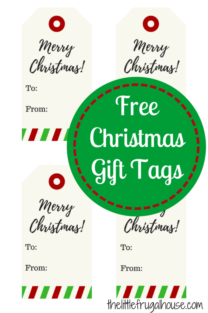 These gift tags are so cute and free! I'm printing several of these to use on my gifts this year. Super cute free Christmas gift tags!