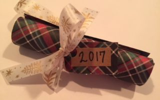 DIY Year In Review Christmas Ornament