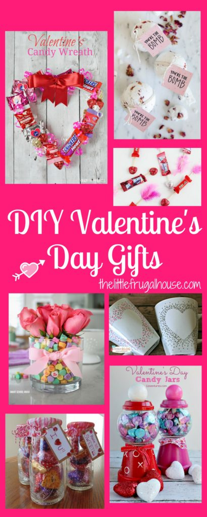 Diy Valentine S Day Gifts The Little Frugal House