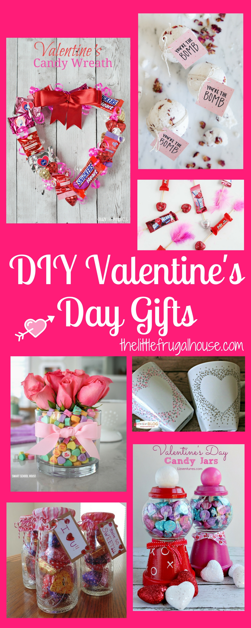 DIY Valentines Day Gifts The Little Frugal House