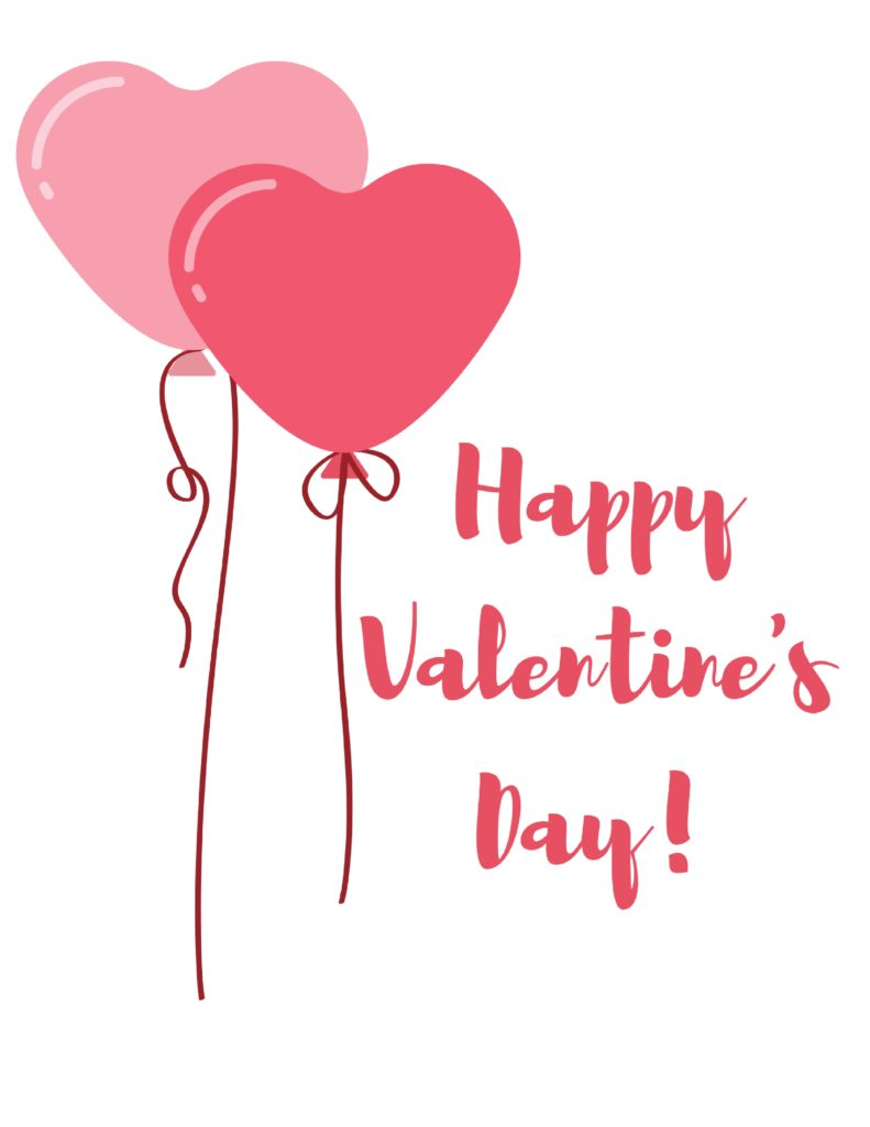 This is an image of Delicate Printable Valentine Pictures