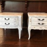 Rustic Farmhouse Style Side Table Makeovers