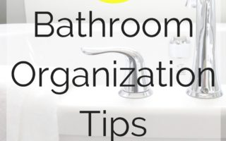 11 Bathroom Organization Tips for Busy People