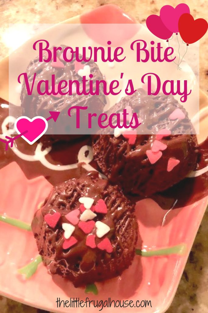 If you need a super cute and easy Valentine treat, these easy brownie bite Valentine's Day treats are just that! You can even buy store brownie bites!