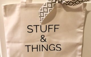 DIY Cricut Craft: Stuff & Things Iron On Tote Bag