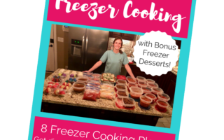 Create More Free Time with Freezer Cooking