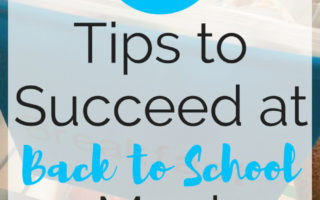 11 Tips to Succeed at Back to School Meal Planning