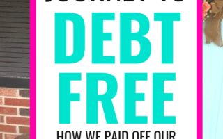 Becoming Debt Free: We Paid Our House Off!