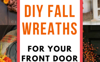 16 Easy DIY Fall Wreaths for Your Front Door