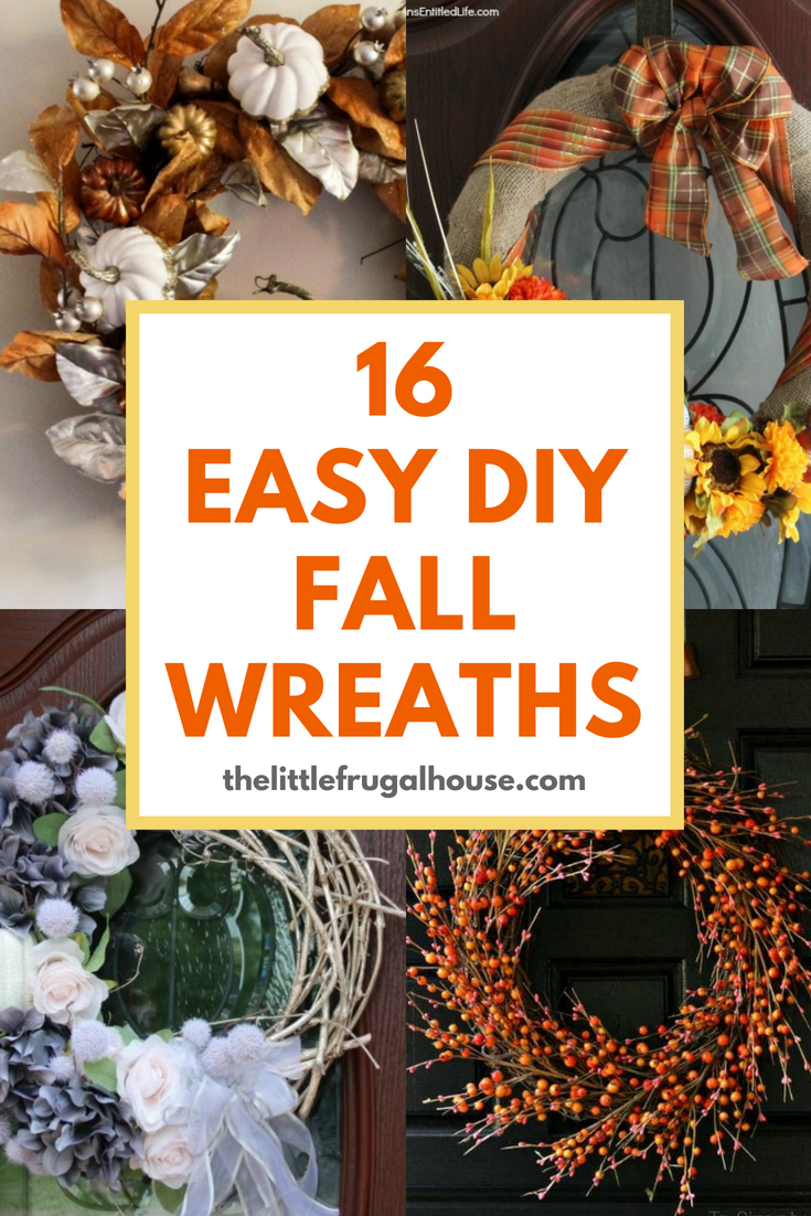 Wreaths Are A Great And Inexpensive Way To Dress Up Your Front Door