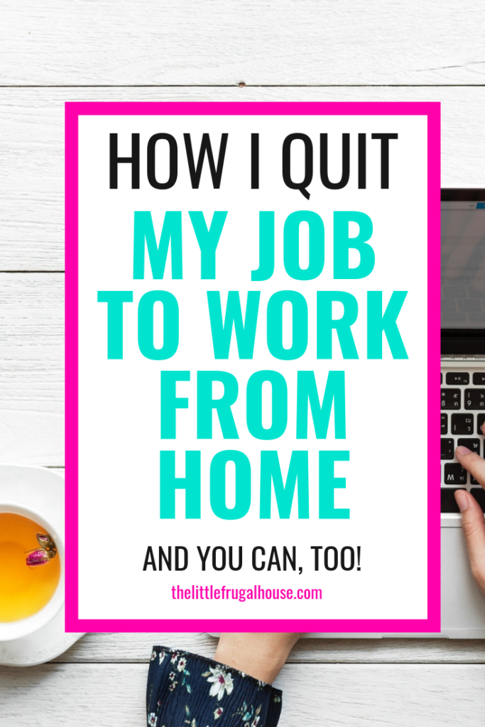 Do you have a big dream of working for yourself or working from home? I did and that dream just came true. I wanted to share my story of quitting my job to work from home to show you how we decided on this and what I'm going to be doing.