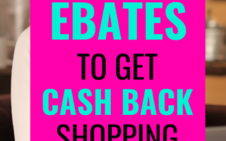 How to Earn Cash Back Online Shopping with Ebates