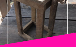 DIY Rustic Wood Lantern