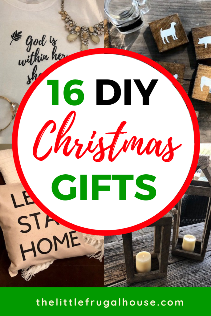 Christmas is the perfect time to give meaningful and handmade gifts. I love receiving and giving DIY Christmas gifts! The extra time and effort put into the gift makes it so special and unique.These are my favorite DIY Christmas gift ideas from projects on the blog.