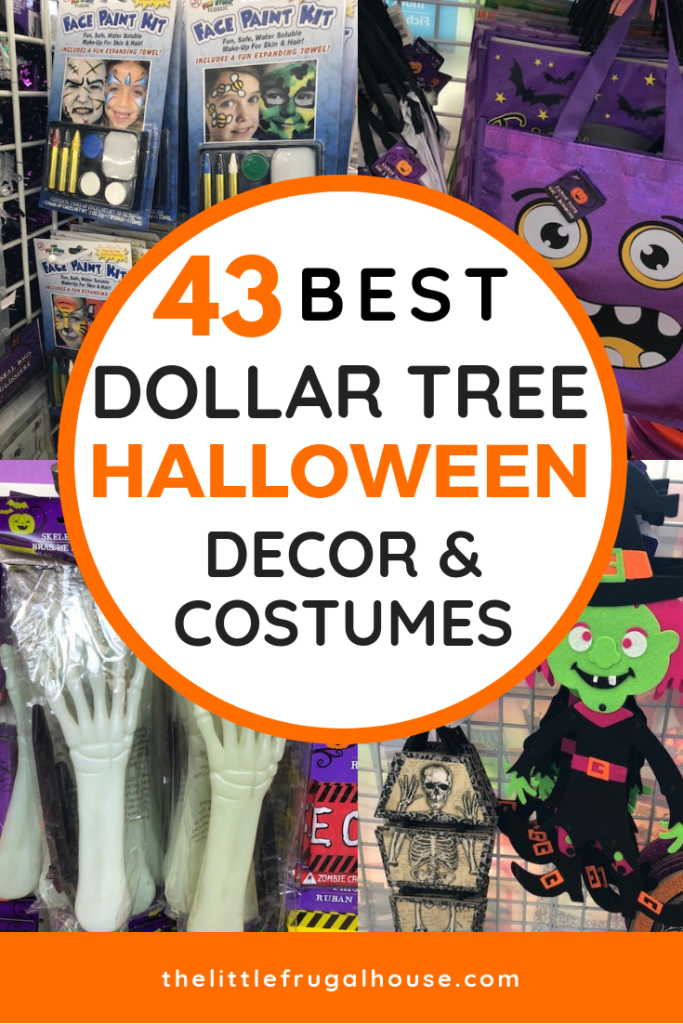 The 43 Best Dollar Tree Halloween Decorations Party Supplies Costumes