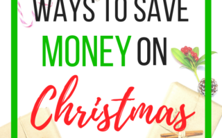 21 Ways to Save Money on Christmas Gifts