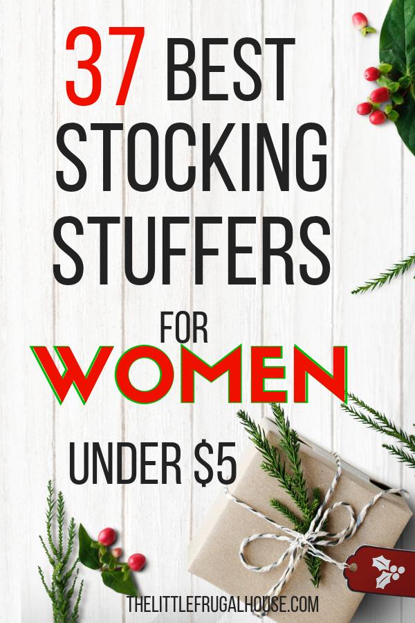 37 Best Stocking Stuffers for Women Under $5 - The Little ...