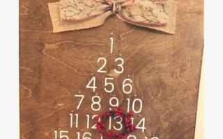 Christmas Countdown DIY Sign