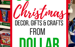 50+ Best Dollar Tree Christmas Decor, Gifts & Crafts