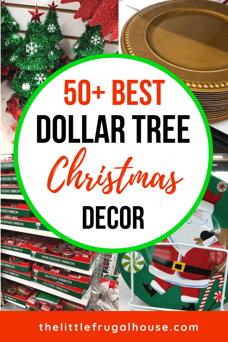 50 Best Dollar Tree Christmas Decor Gifts Crafts