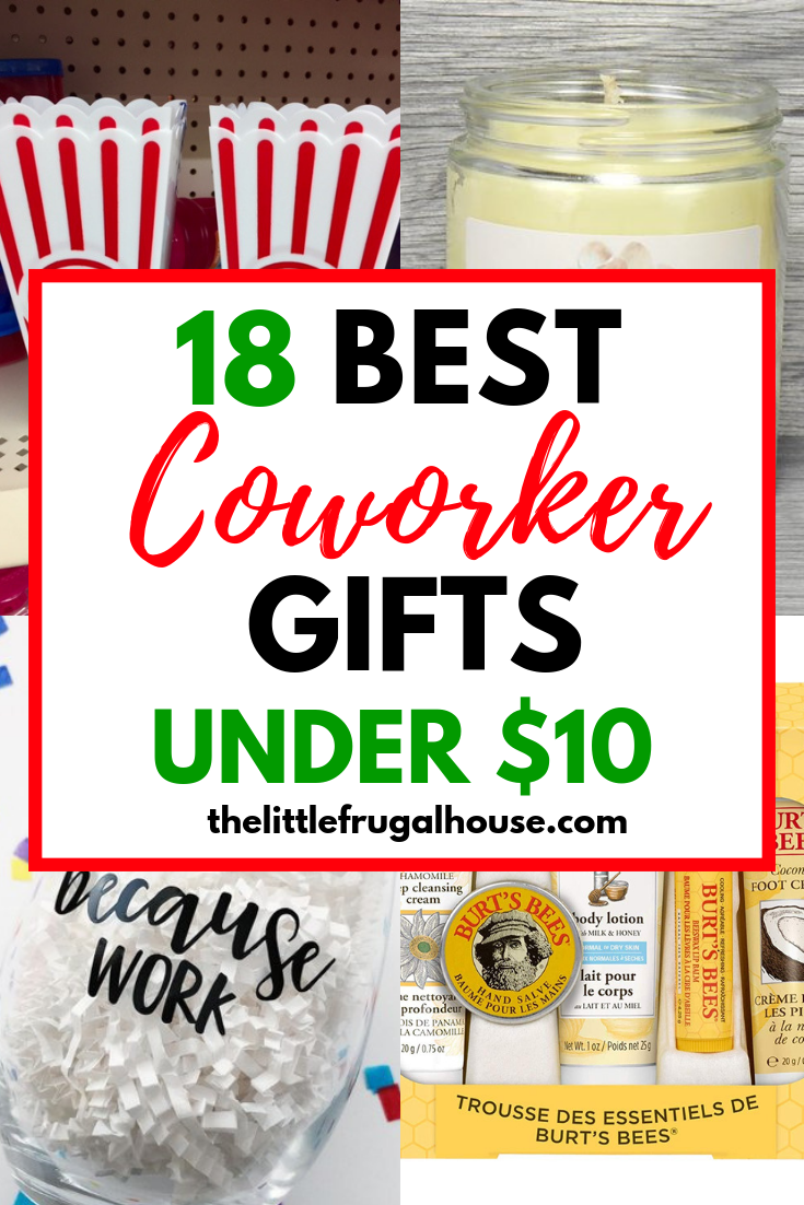 18 Christmas Gifts for Coworkers Under $10 - The Little ...