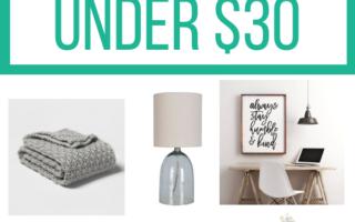 11 Living Room Home Decor Ideas Under $30
