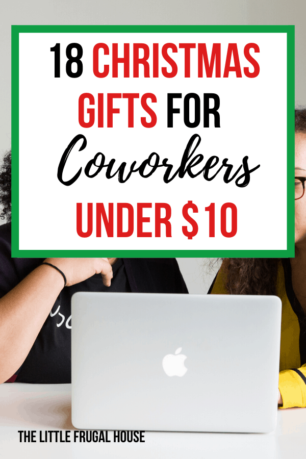 18 Christmas Gifts For Coworkers Under 10 The Little Frugal House