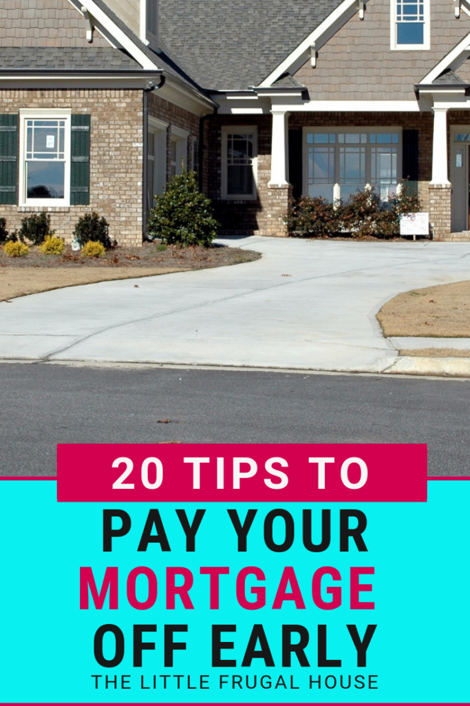 Ready to get out of debt and pay your mortgage off early? We just paid our house off and are living the debt free dream. Find your own freedom with these tips to pay your mortgage off early.