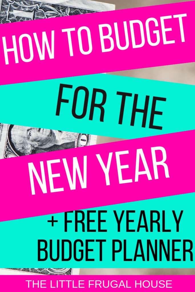 how to make a budget for the new year free budget planner the