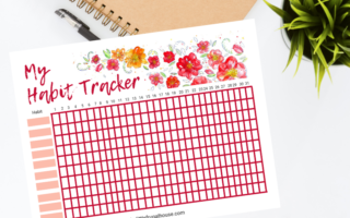 FREE Daily Habit Tracker Printable