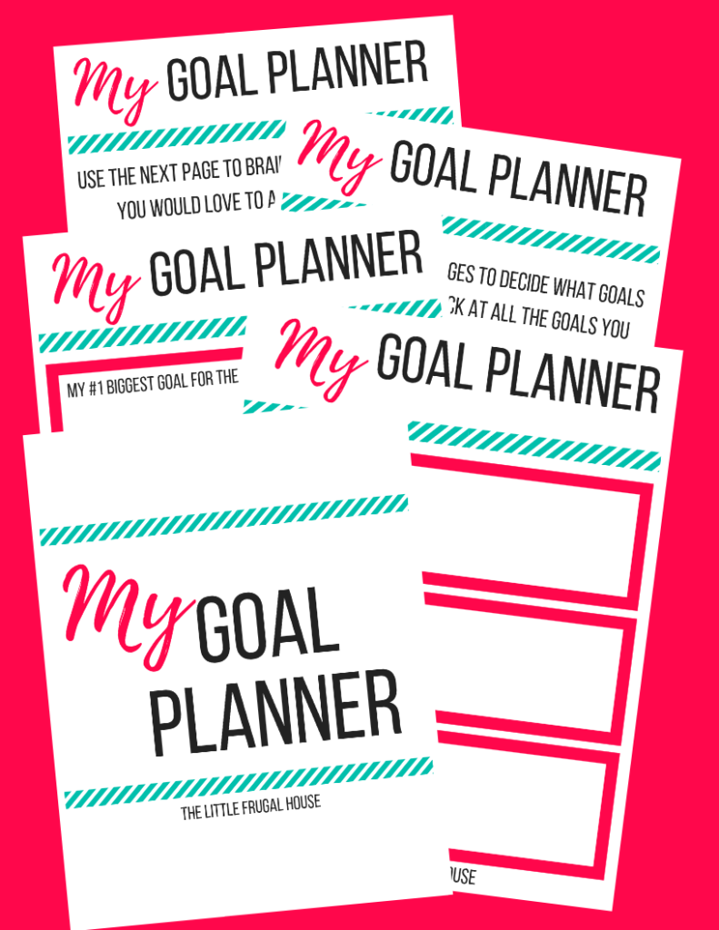 Goal Planning for the New Year + FREE Goal Planner Workbook