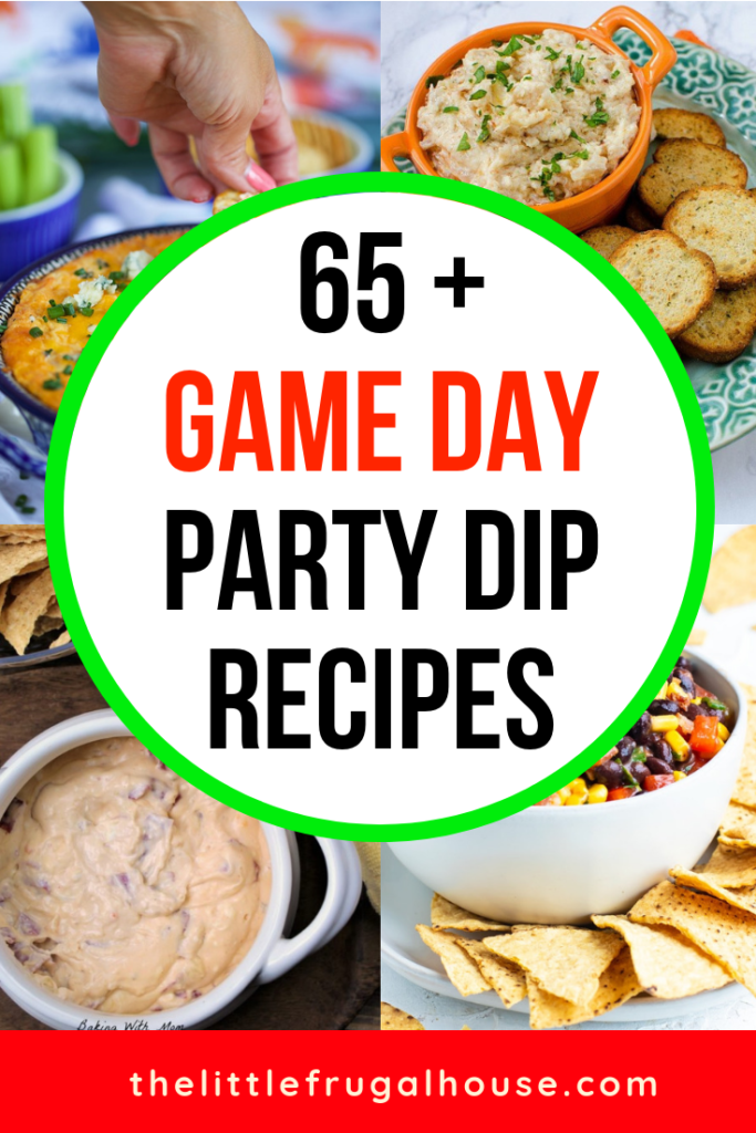 65 Easy Party Dips For Game Day The Little Frugal House