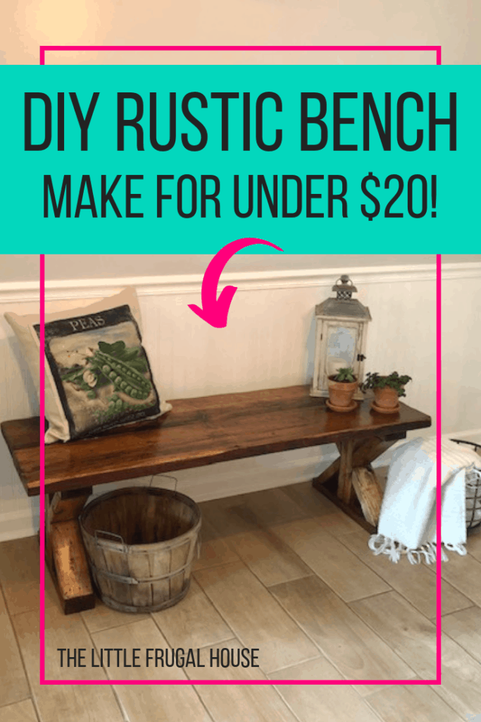 Prime Diy Dining Room Bench Under 20 The Little Frugal House Gmtry Best Dining Table And Chair Ideas Images Gmtryco