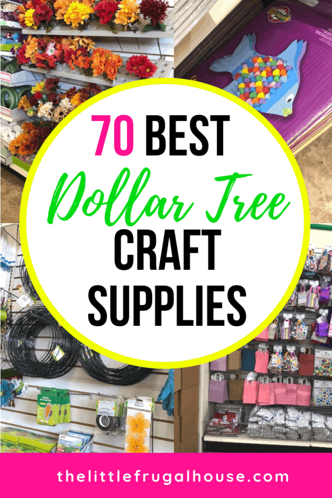 The 70 Best Dollar Tree Craft Supplies The Little Frugal House