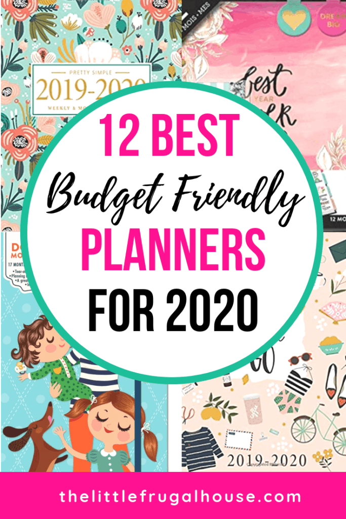 Best Planner 2020.12 Best Planners For 2020 The Little Frugal House